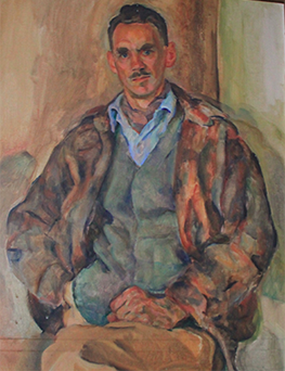 oil painting of James Boyd