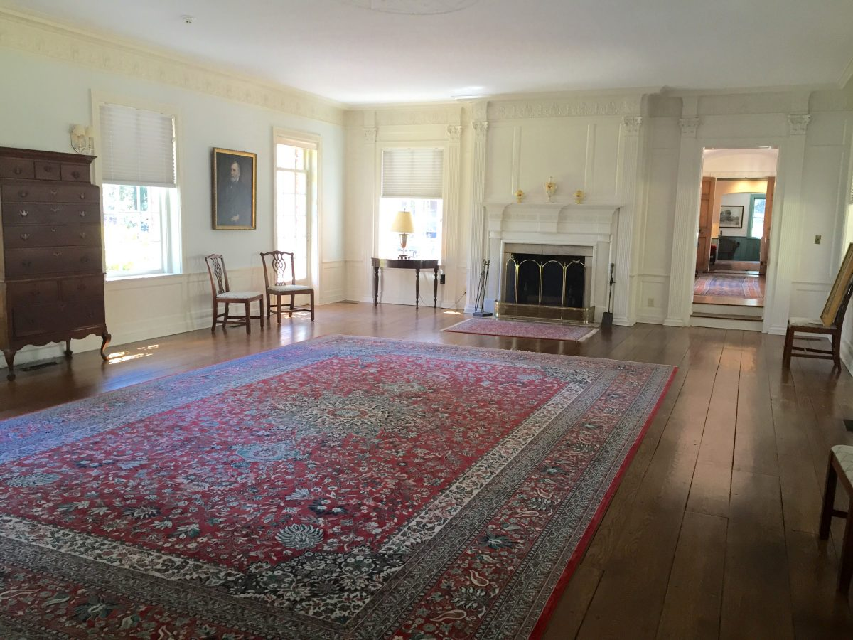 The Great Room of the James Boyd House