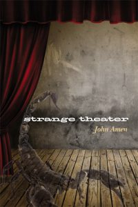 book cover showing an empty theater stage