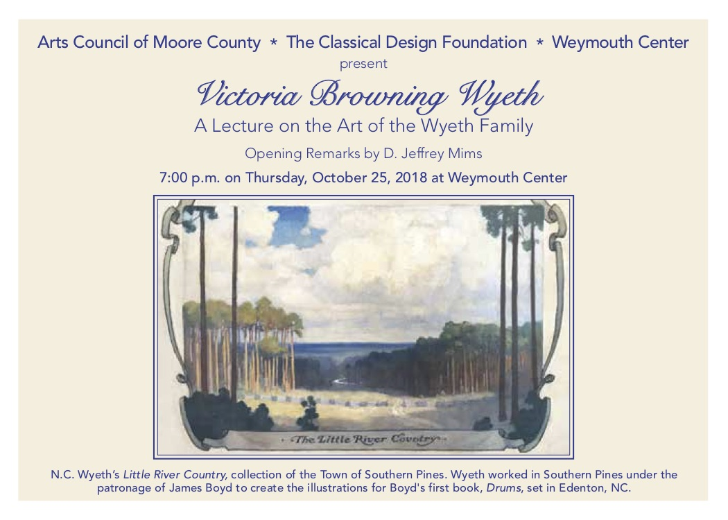 Victoria Browning Wyeth at Weymouth Center