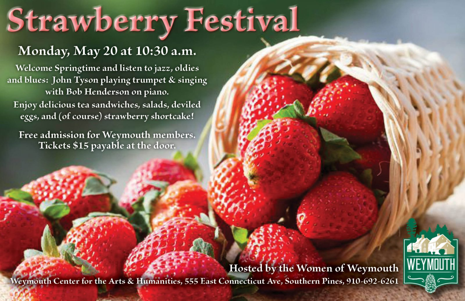 Women of Weymouth - Strawberry Festival