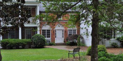 Boyd House orig front door