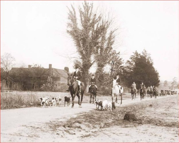 Horses hounds and old cars from Southern Pines Welcome Center archives