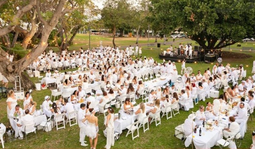 Canceled - Dinner en Blanc @ Weymouth Center