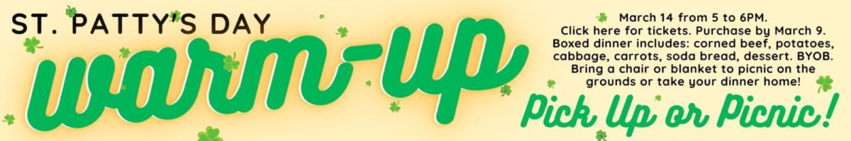 St Pattys Day warm up web header 3